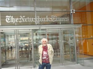 Phil devant le New york times